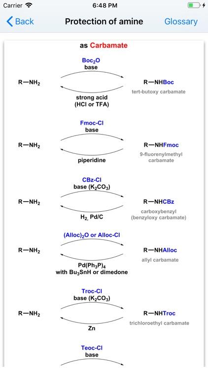 Organic Reactions screenshot-4