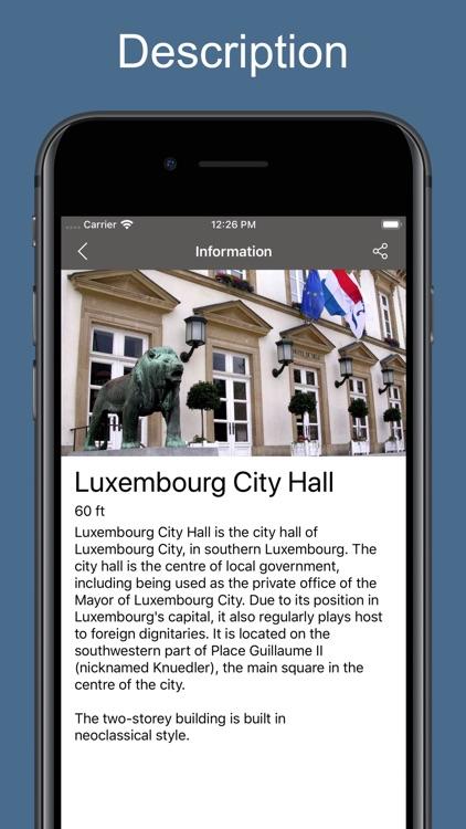 Luxembourg 2020 — offline map screenshot-4