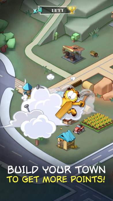 Garfield Run: Road Tour screenshot 2