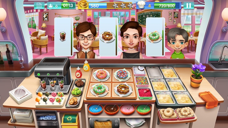 Crazy Cooking Star Chef screenshot-3