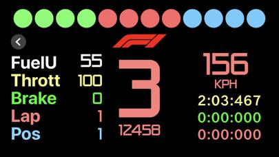 Sim Racing Dash for F1 2017 screenshot 3