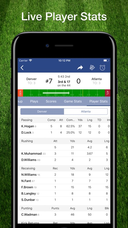 Scores App: Pro Football 2019 screenshot-4
