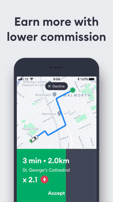 Bolt Driver (Taxify) for Windows