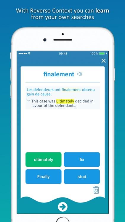 Reverso translate and learn screenshot-4