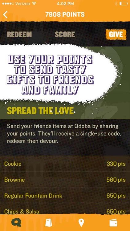 QDOBA Rewards & Ordering screenshot-4