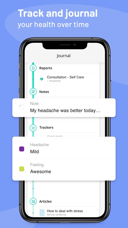Healthily: The Self-Care App screenshot-2
