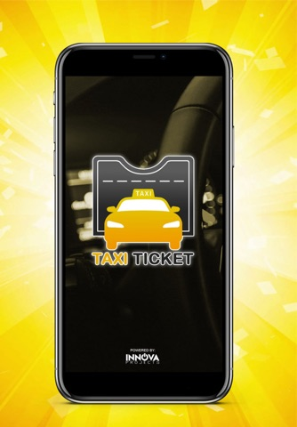 Taxi Ticket - náhled