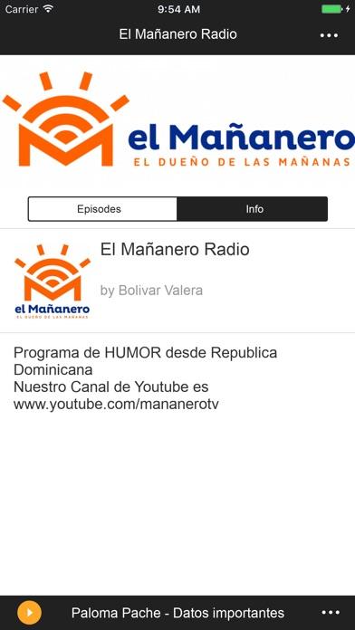 El Mañanero Radio app download for Android iOs and PC