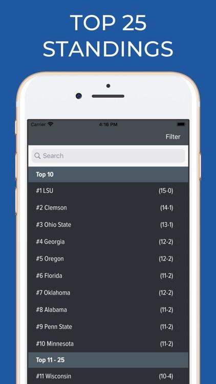West Virginia Football screenshot-5