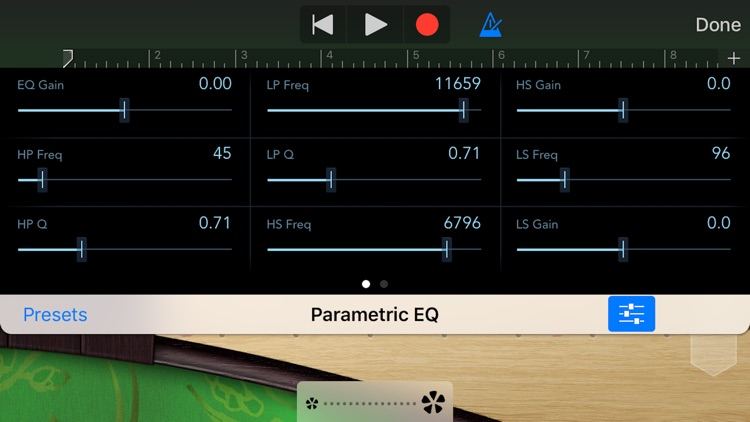 Parametric Equalizer