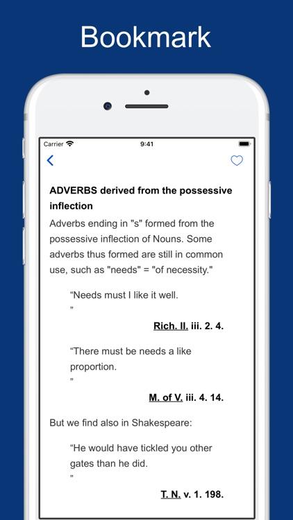 A Shakespearean Grammar screenshot-3