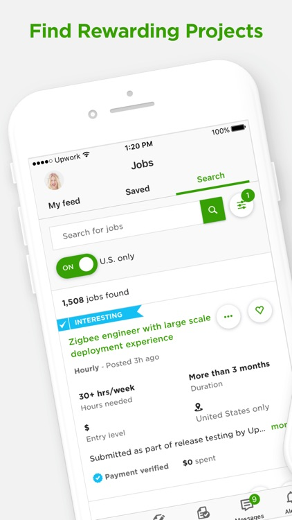 Upwork for Freelancers screenshot-0