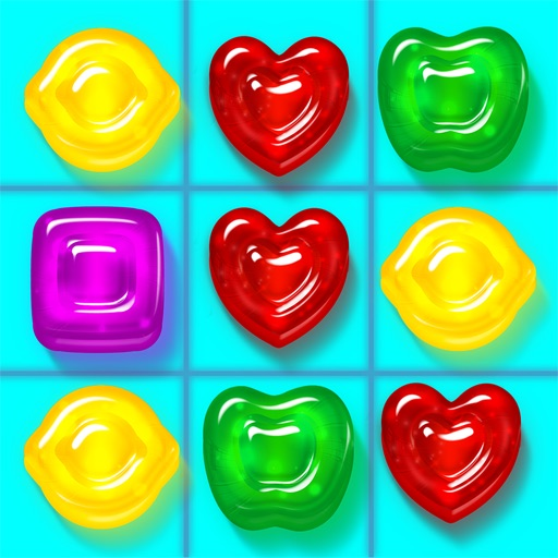 Gummy Drop! – A Match 3 Game icon