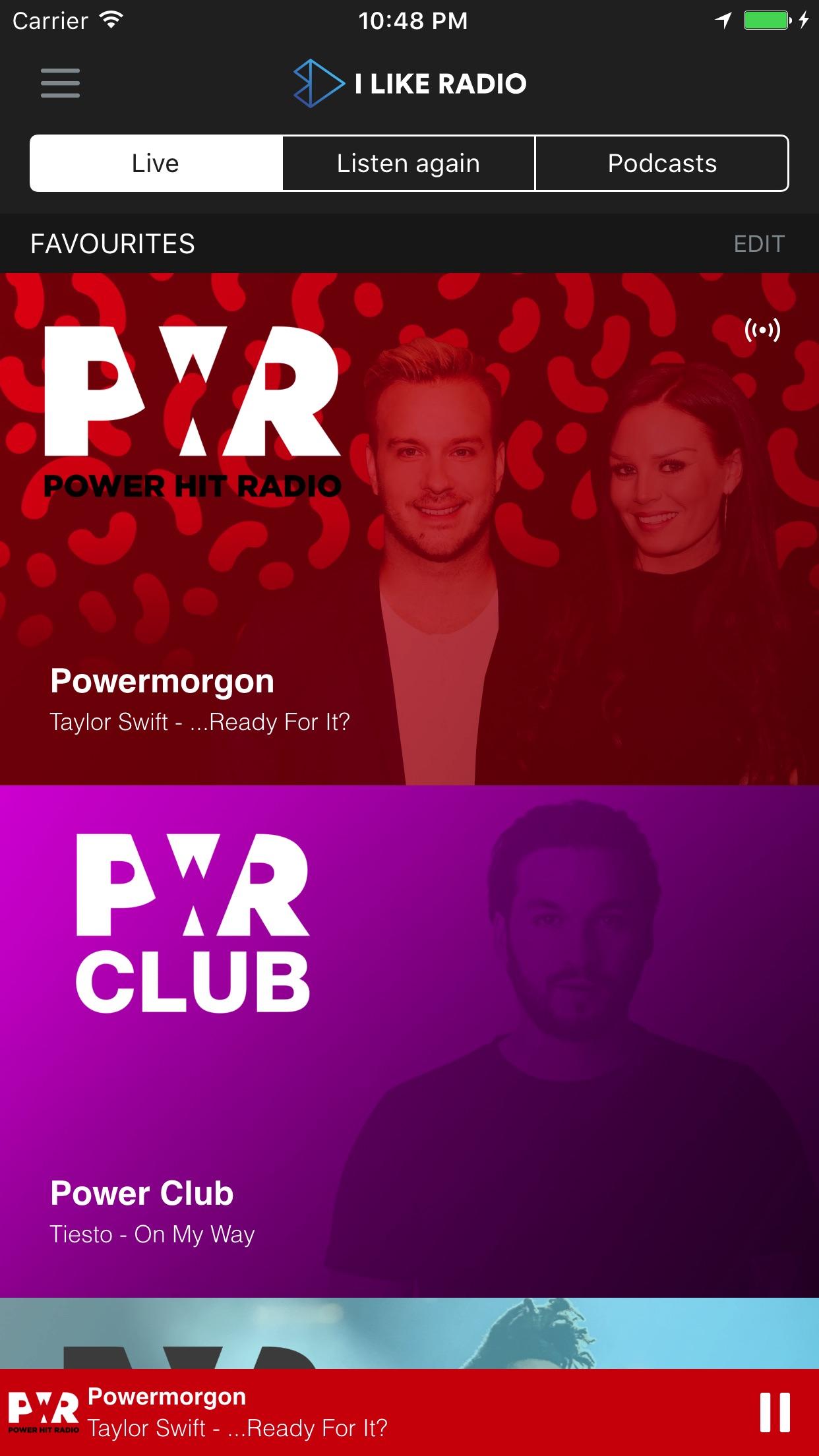 Power Hit Radio Screenshot