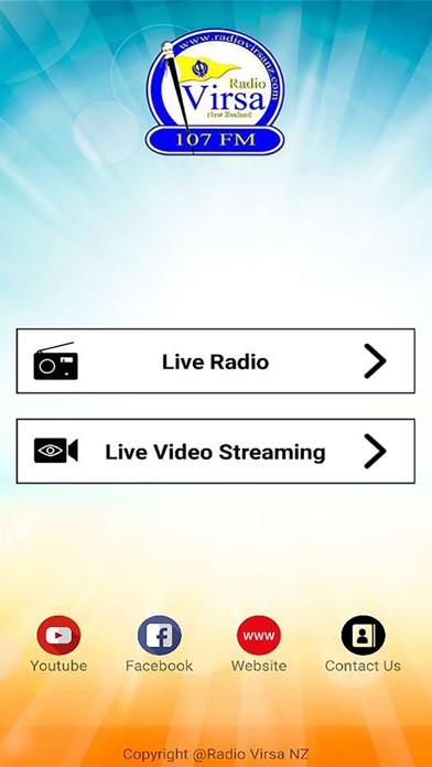 Virsa Radio NZ screenshot one