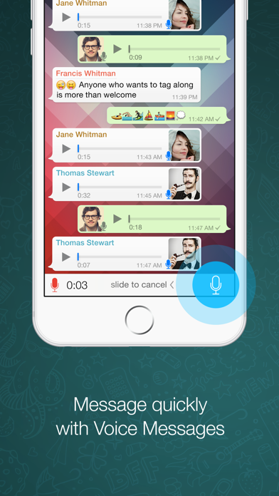 Screenshot for WhatsApp Messenger in United Kingdom App Store