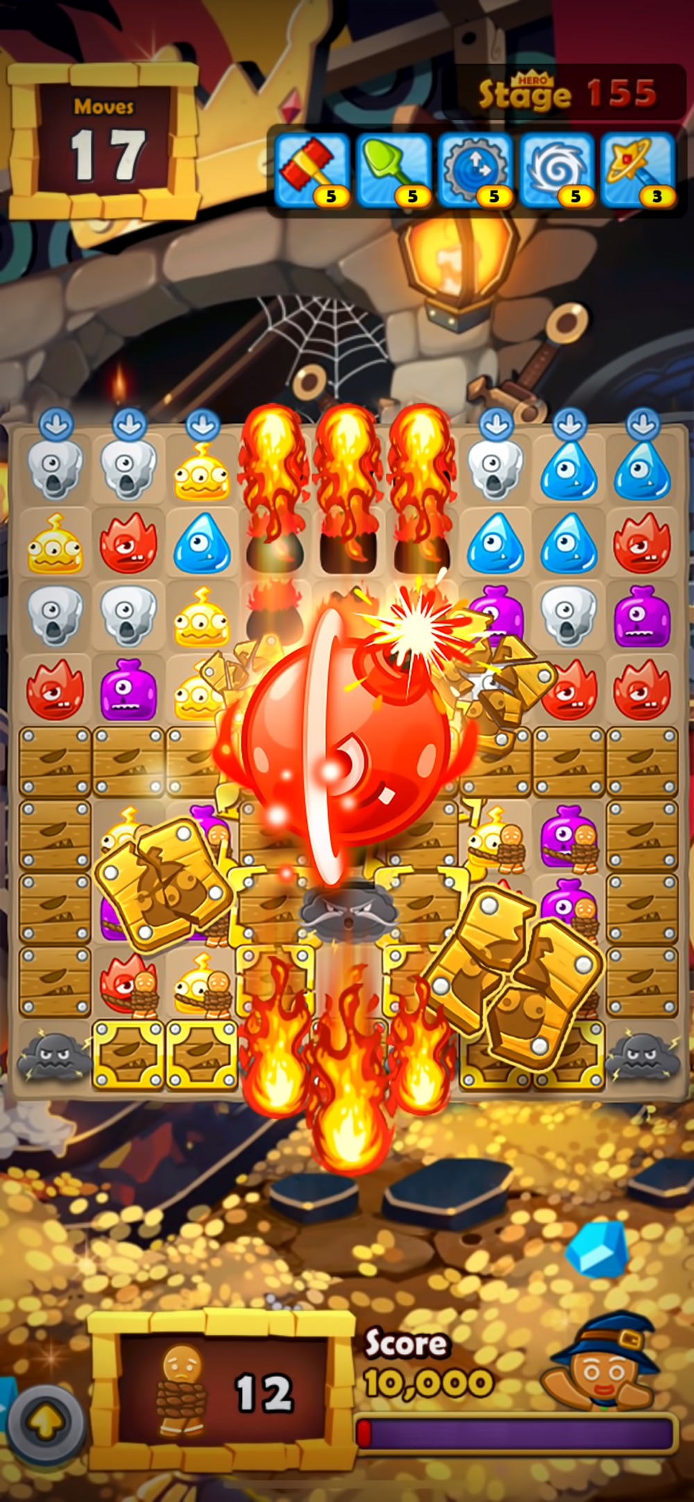 Monster Busters:Match 3 Puzzle Cheat Codes