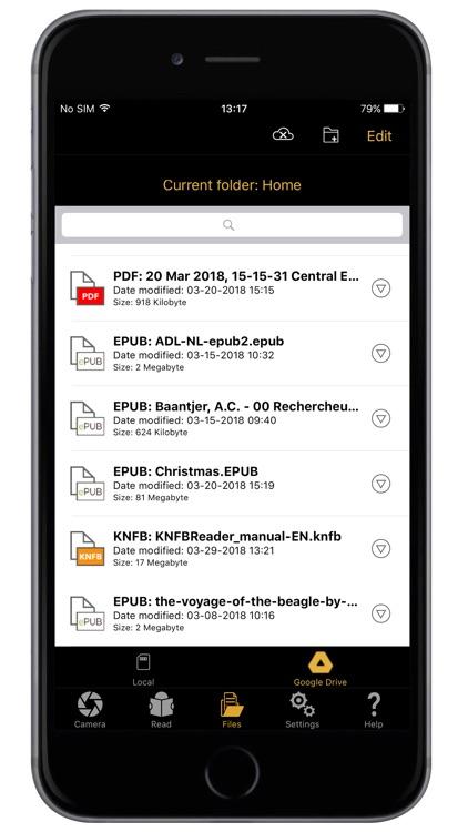 KNFB Reader screenshot-5