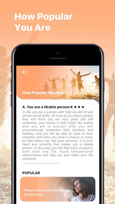 Test Master - Palm, Face Aging screenshot 4