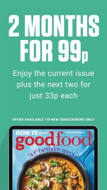 BBC Good Food Magazine screenshot-0