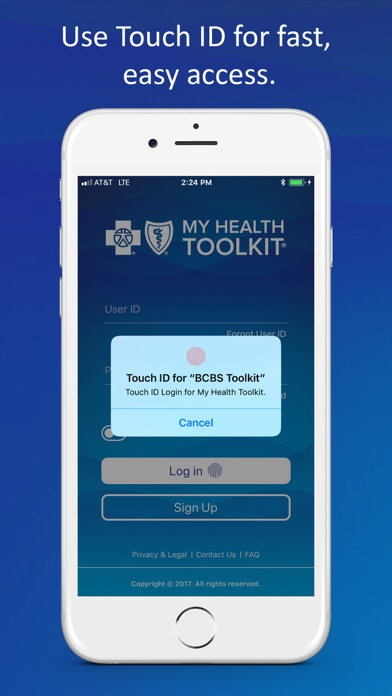 My Health Toolkit® for BCBS by My Health Toolkit, LLC (iOS