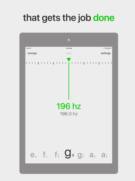 Fine Tuner - Chromatic Tuner screenshot