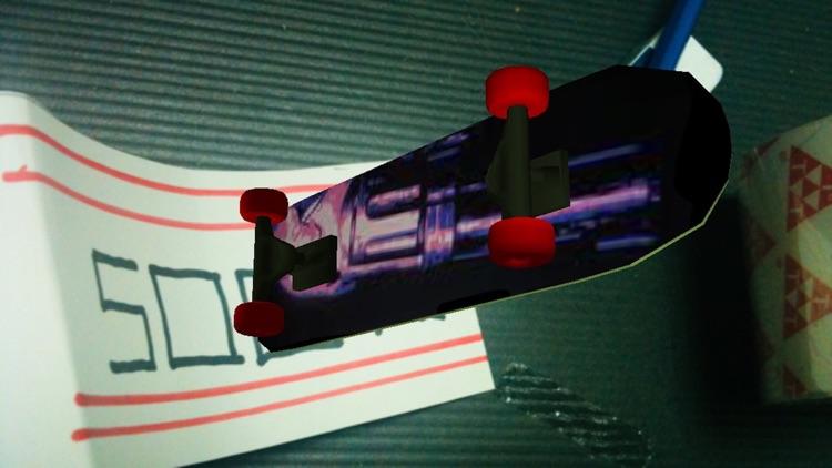 Skateboard Doodle 3D