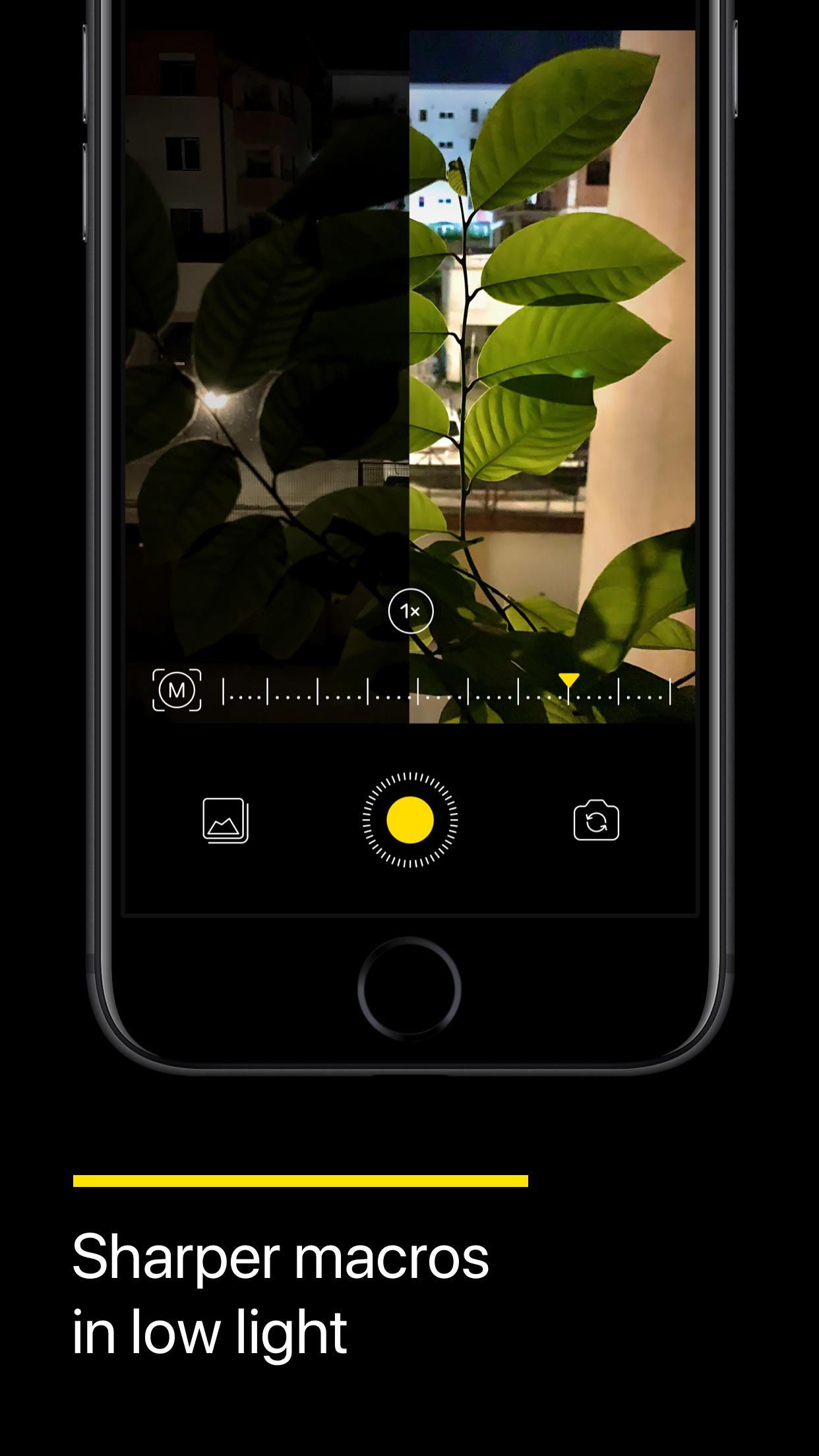 Screenshot do app NeuralCam: Modo Noturno Câmera