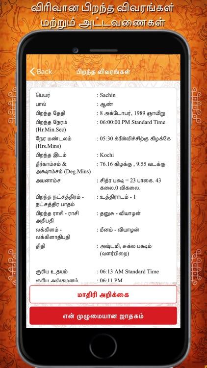 Daily Horoscope in Tamil screenshot-3