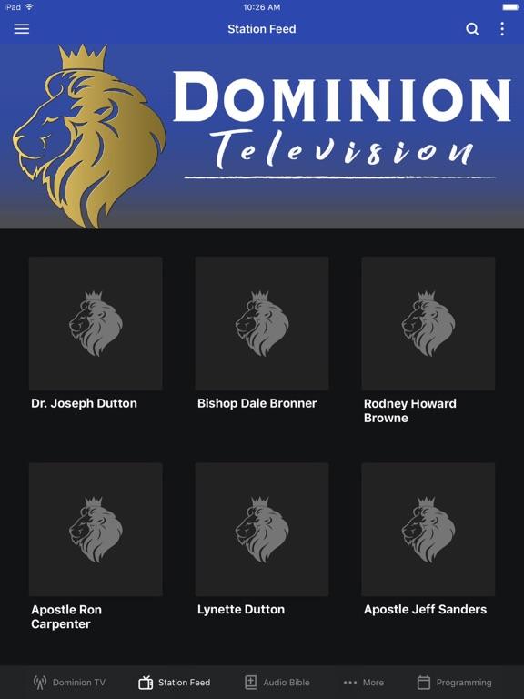 Dominion TV screenshot 5