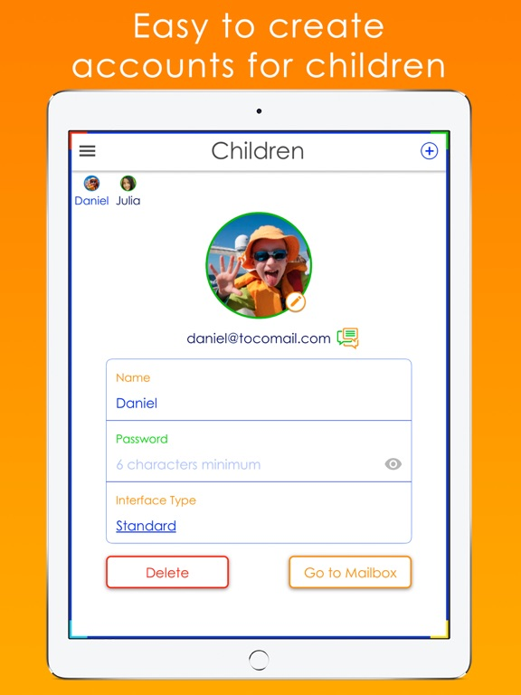 Tocomail - Email for Kidsのおすすめ画像7