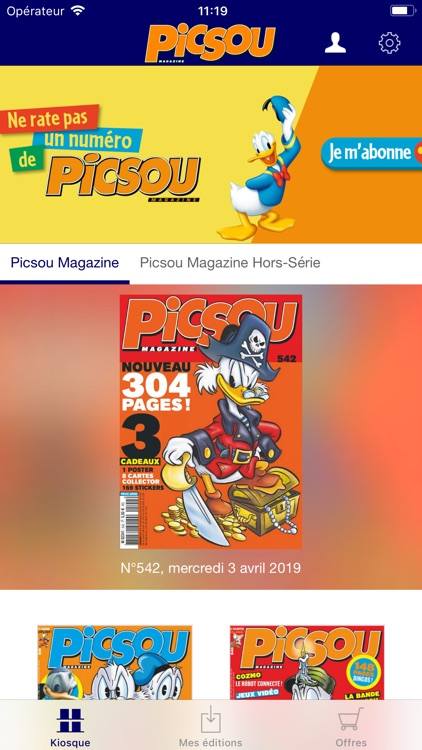 Picsou Magazine screenshot-0