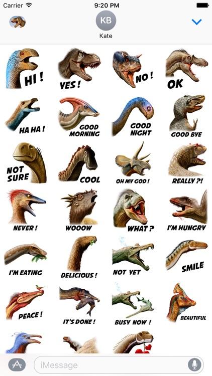 Dinosaurs Sticker Pack screenshot-4