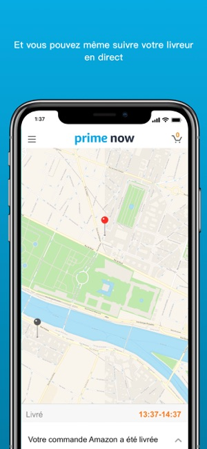 Amazon Prime Now Dans L App Store