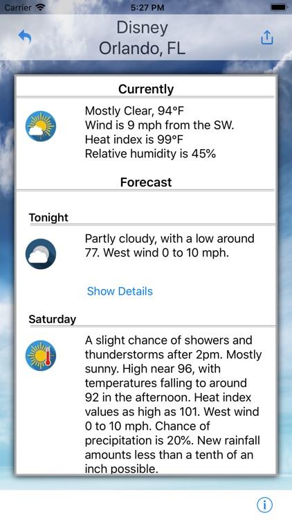 Destination Weather screenshot-3
