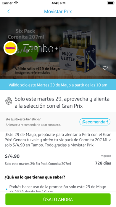 Screenshot for Movistar Prix in Venezuela App Store