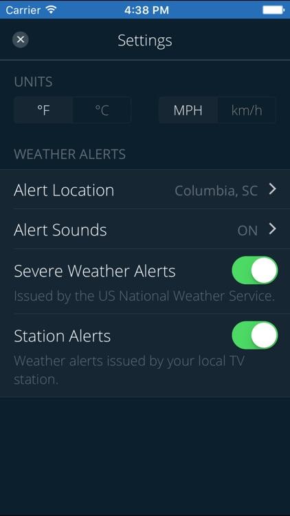 WLTX Weather screenshot-4