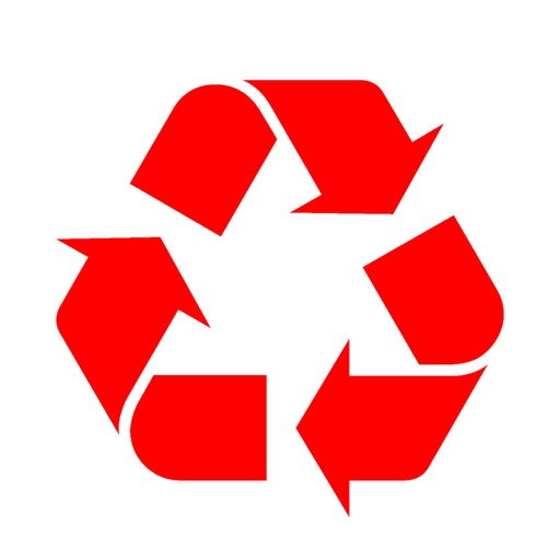Recycle RED icon