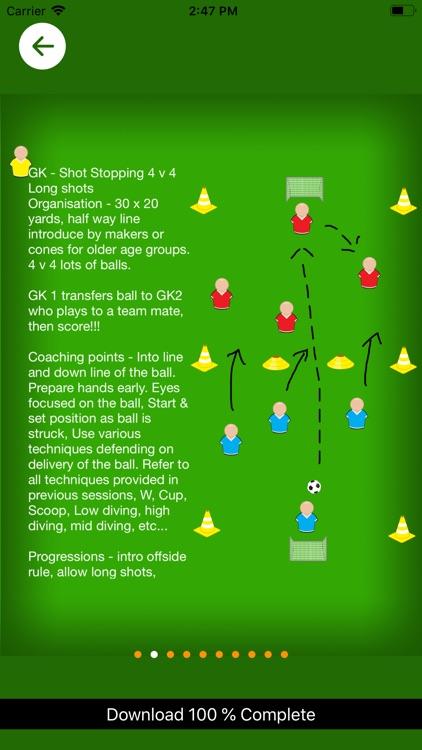 Goal Keeping Coaching Sessions screenshot-3