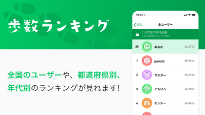 ナビタイムの歩数計アプリ - ALKOO(あるこう) ScreenShot1