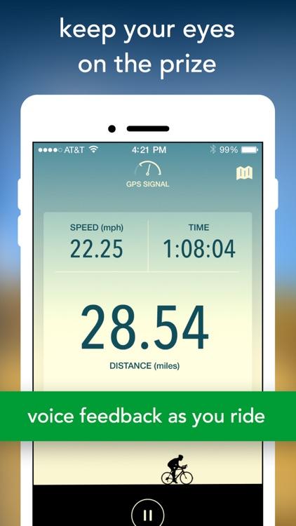 GPS Bike Ride Tracker by Vima screenshot-4