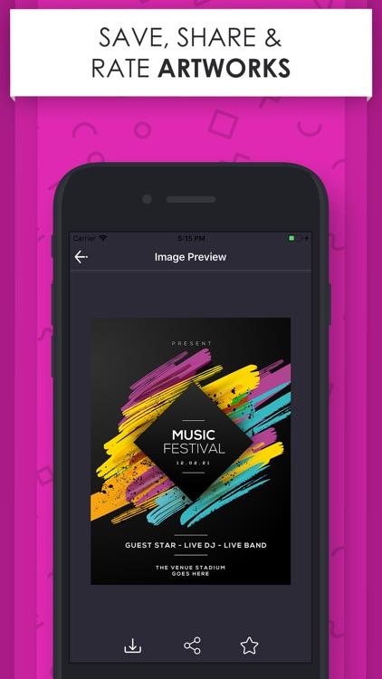 Poster Maker - Flyer Designer. screenshot-4