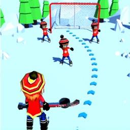 Hockey Ball Pass - 3D Goal