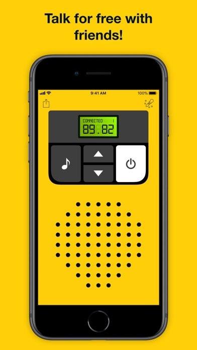 Screenshot for Walkie-talkie - COMMUNICATION in United States App Store