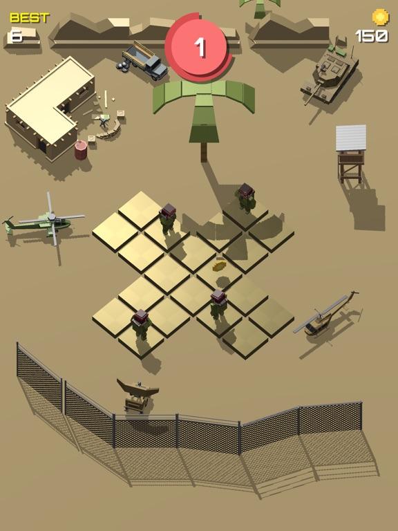 Pixel 3D - Soldier Gamesのおすすめ画像6