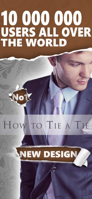 aedf4ba4d77f How to Tie a Tie Fashion Look on the App Store