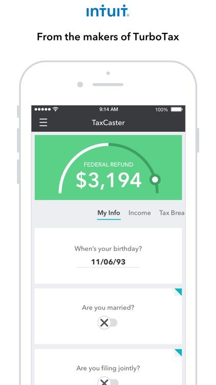 TaxCaster: Tax Calculator screenshot-0