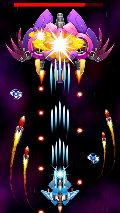 Strike Galaxy Attack Fighters screenshot-0