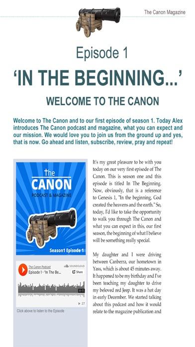 The Canon MagazineScreenshot of 3