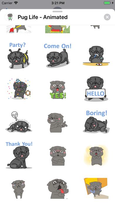 Pug Life - Animated screenshot 7